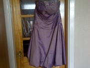Prom Dress beautifully made size 16 only worn once